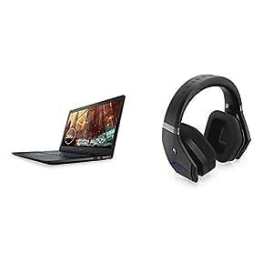 Dell ゲーミングノートパソコン G3 17 3779 Core i5 ブラック 19Q31B/Win 10/17.3FHD/8GB/256GB SSD/GTX1050 + Dell Alienware ワイヤレスゲーミングヘッドセット AW988