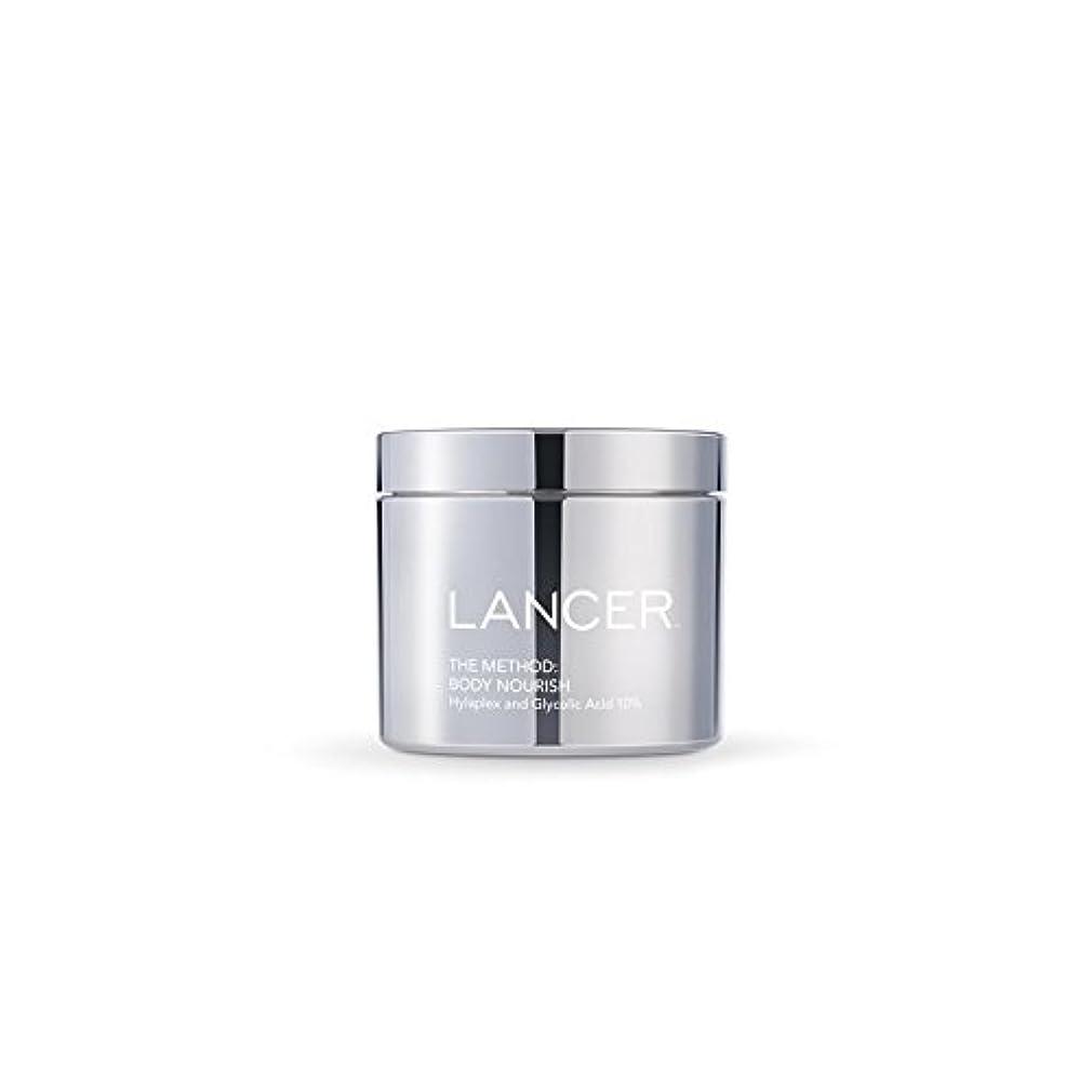 夕暮れふりをするまぶしさLancer Skincare The Method: Body Nourish (325ml) - 本体養う(325ミリリットル):ランサーは、方法スキンケア [並行輸入品]