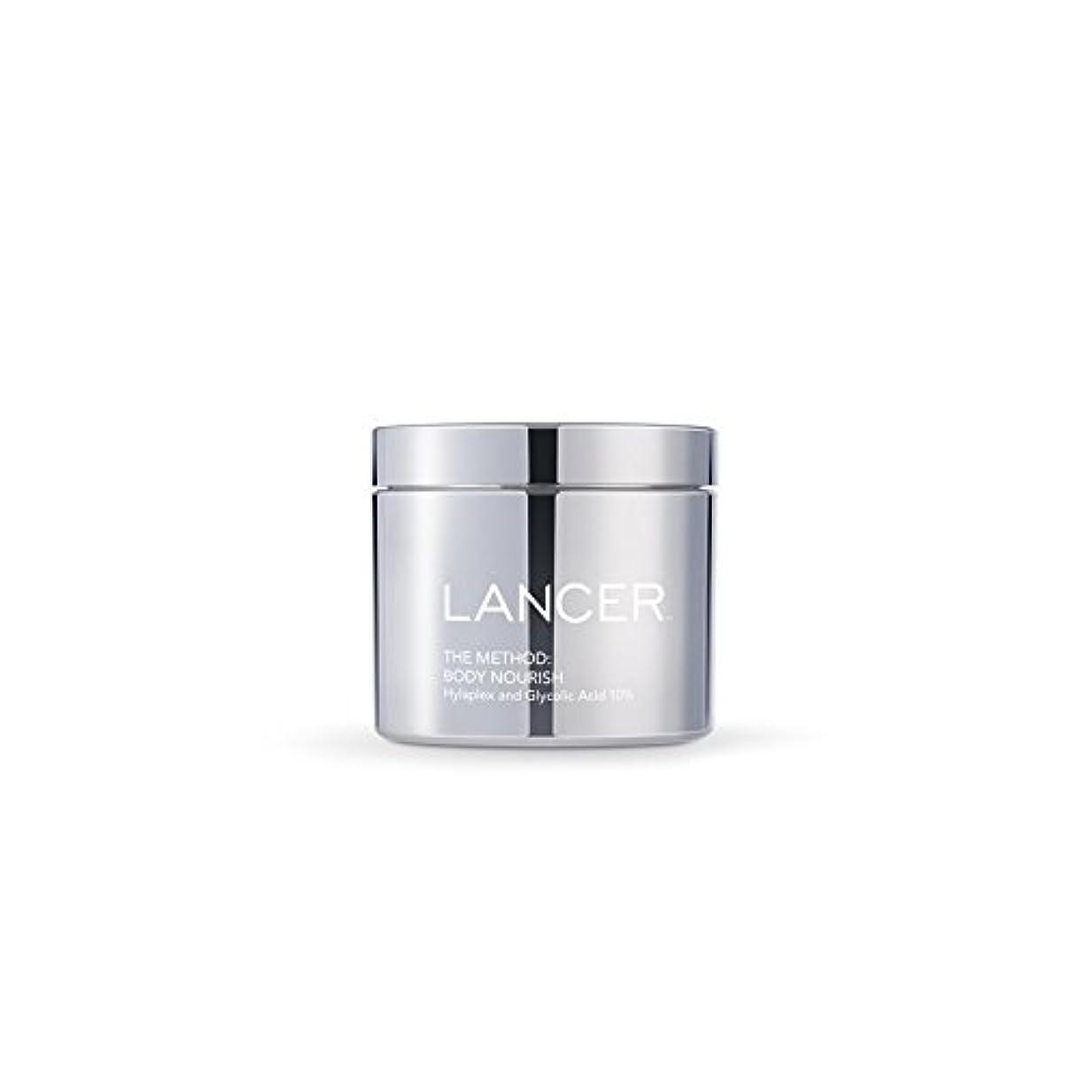 ライバル現代月曜Lancer Skincare The Method: Body Nourish (325ml) - 本体養う(325ミリリットル):ランサーは、方法スキンケア [並行輸入品]