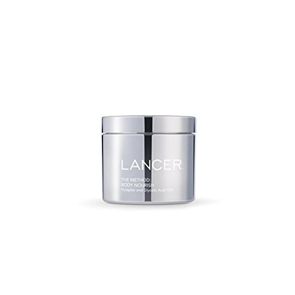 修復質素な土曜日Lancer Skincare The Method: Body Nourish (325ml) - 本体養う(325ミリリットル):ランサーは、方法スキンケア [並行輸入品]
