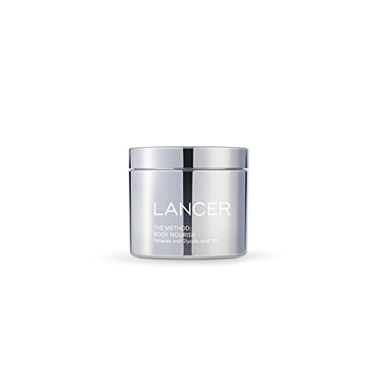 に慣れ力強いきちんとしたLancer Skincare The Method: Body Nourish (325ml) (Pack of 6) - 本体養う(325ミリリットル):ランサーは、方法スキンケア x6 [並行輸入品]