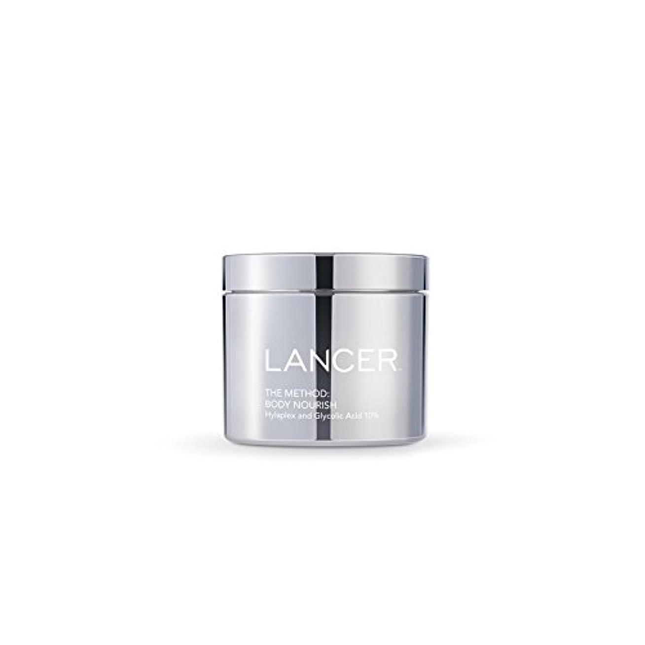 約設定放射能ユーモラスLancer Skincare The Method: Body Nourish (325ml) (Pack of 6) - 本体養う(325ミリリットル):ランサーは、方法スキンケア x6 [並行輸入品]