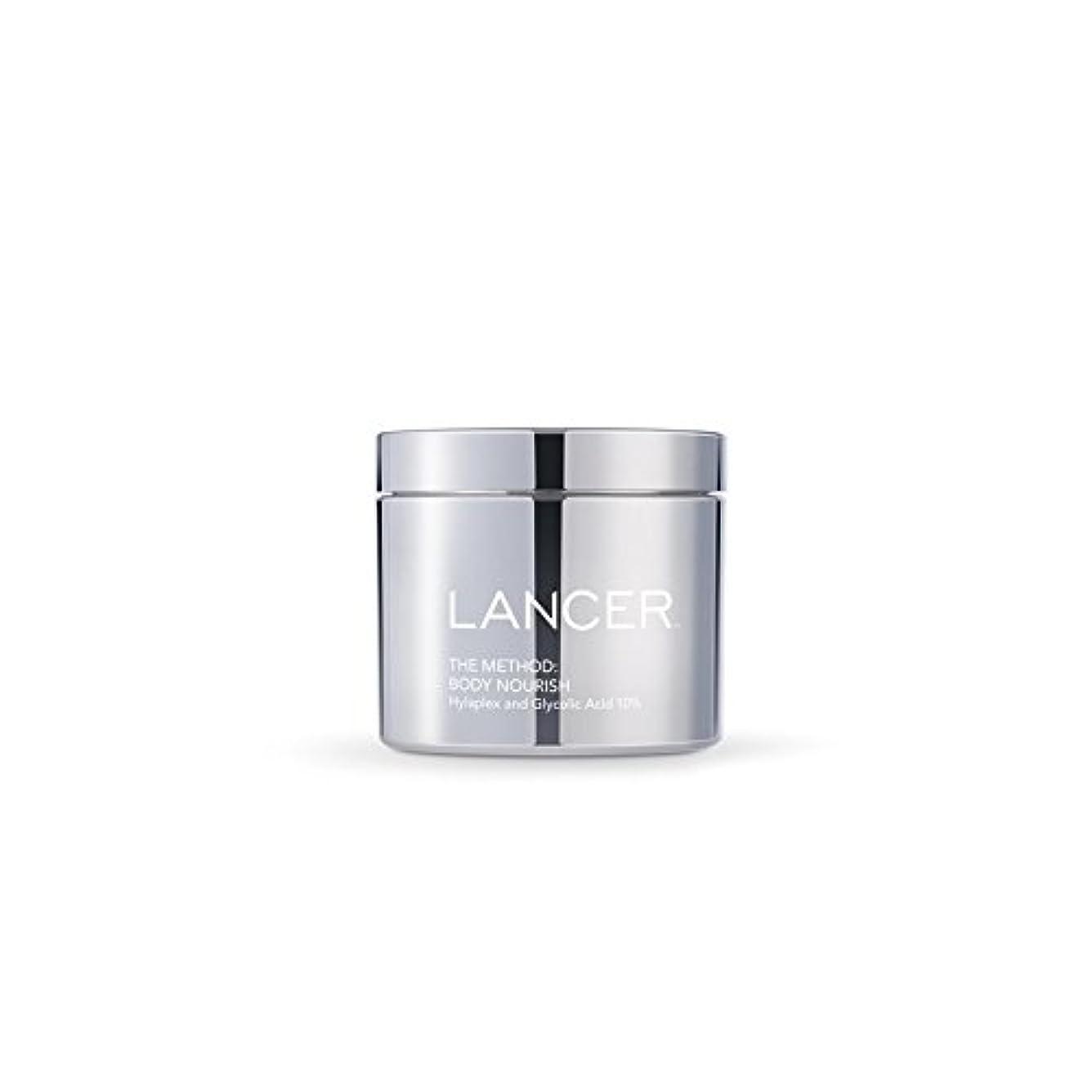本体養う(325ミリリットル):ランサーは、方法スキンケア x4 - Lancer Skincare The Method: Body Nourish (325ml) (Pack of 4) [並行輸入品]