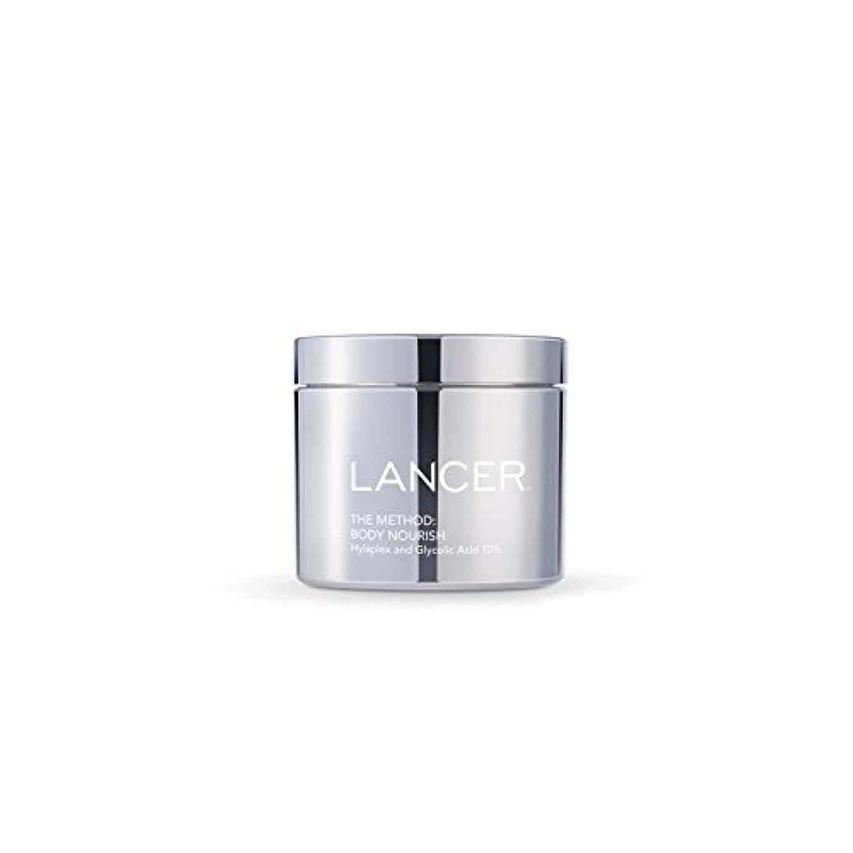 中級ハーフ高層ビルLancer Skincare The Method: Body Nourish (325ml) (Pack of 6) - 本体養う(325ミリリットル):ランサーは、方法スキンケア x6 [並行輸入品]