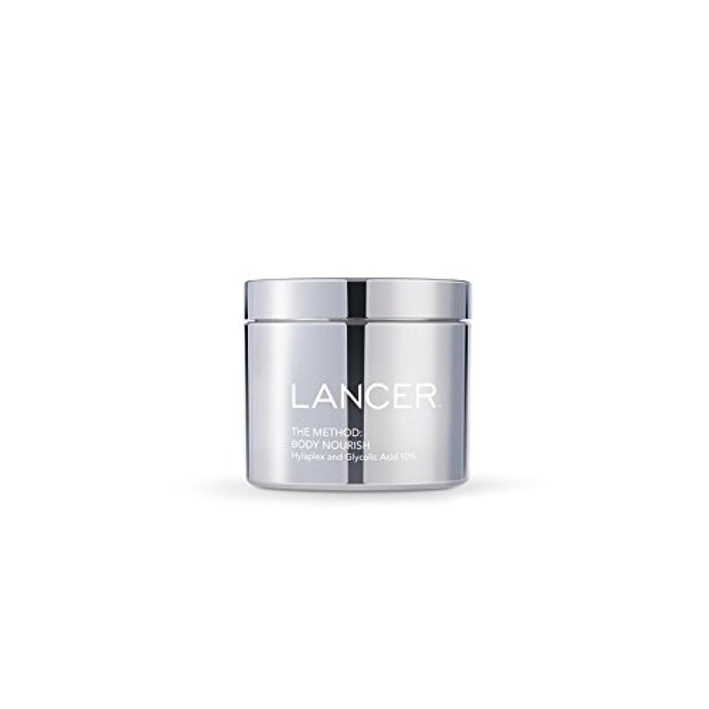 背景カニ知るLancer Skincare The Method: Body Nourish (325ml) (Pack of 6) - 本体養う(325ミリリットル):ランサーは、方法スキンケア x6 [並行輸入品]