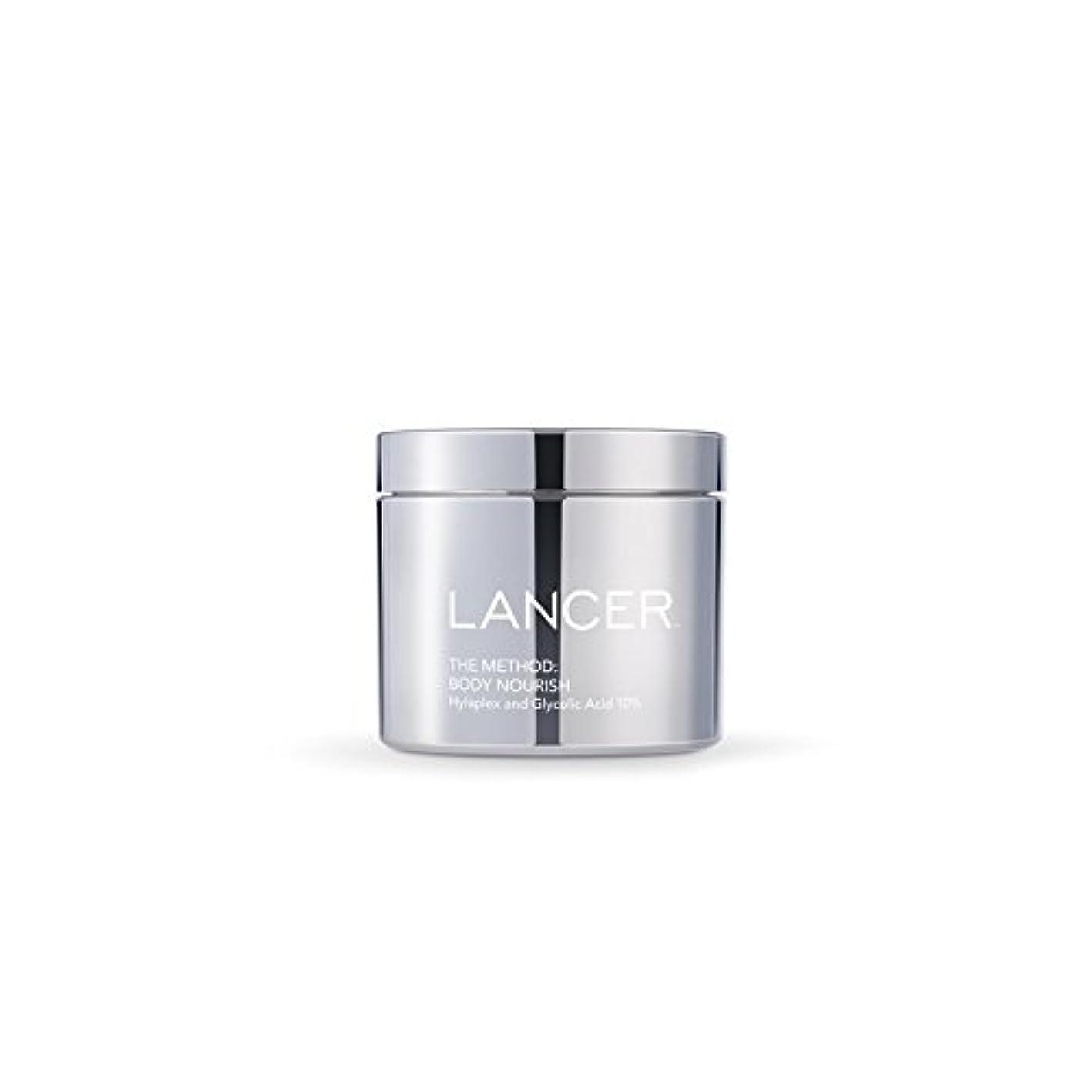 製油所ヨーロッパ怖がって死ぬLancer Skincare The Method: Body Nourish (325ml) (Pack of 6) - 本体養う(325ミリリットル):ランサーは、方法スキンケア x6 [並行輸入品]