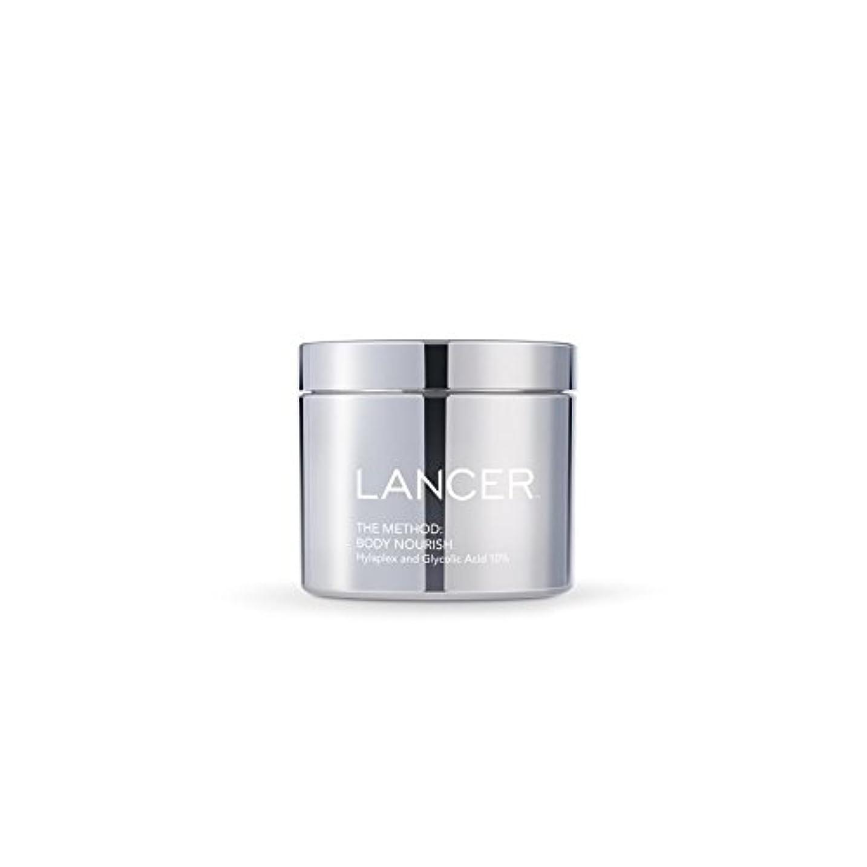 シチリア支払うマウント本体養う(325ミリリットル):ランサーは、方法スキンケア x2 - Lancer Skincare The Method: Body Nourish (325ml) (Pack of 2) [並行輸入品]