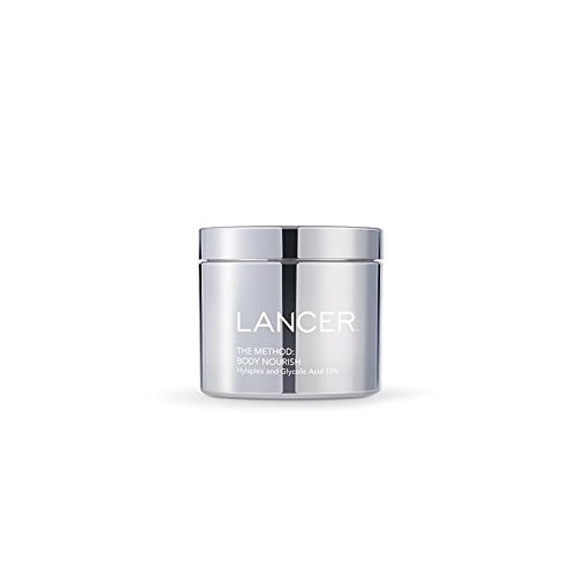 プレゼン擁する不健全Lancer Skincare The Method: Body Nourish (325ml) - 本体養う(325ミリリットル):ランサーは、方法スキンケア [並行輸入品]