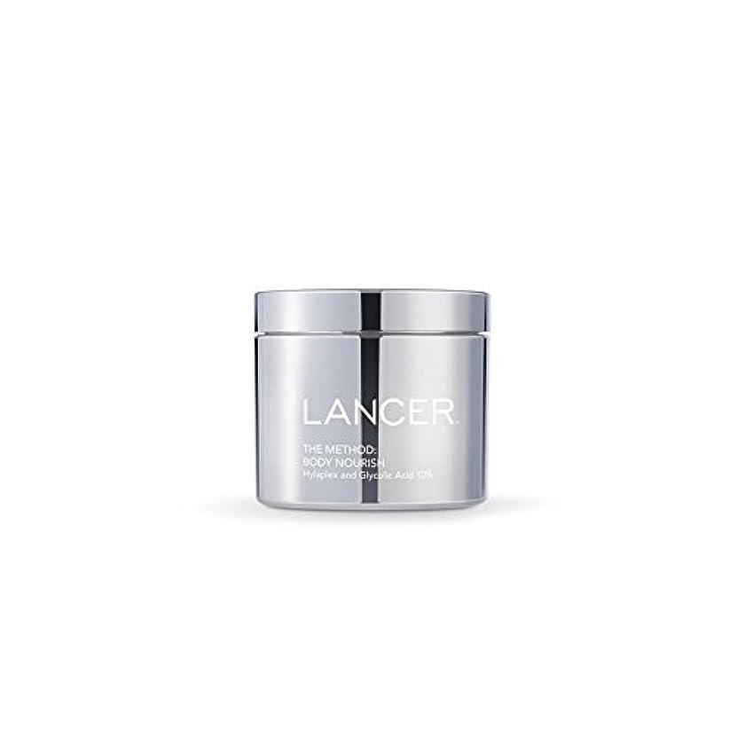 測定可能満足させるLancer Skincare The Method: Body Nourish (325ml) (Pack of 6) - 本体養う(325ミリリットル):ランサーは、方法スキンケア x6 [並行輸入品]