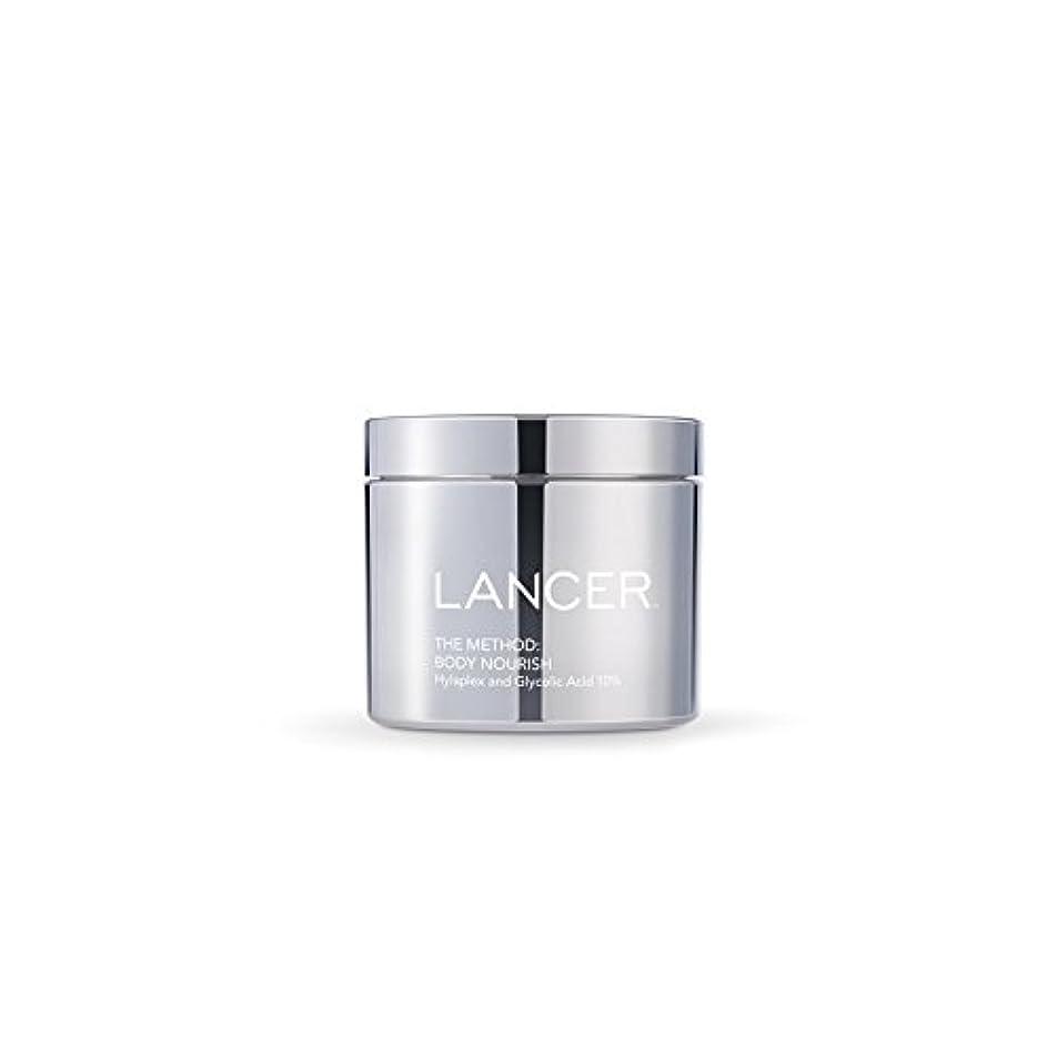 メダルテクニカル増強Lancer Skincare The Method: Body Nourish (325ml) (Pack of 6) - 本体養う(325ミリリットル):ランサーは、方法スキンケア x6 [並行輸入品]
