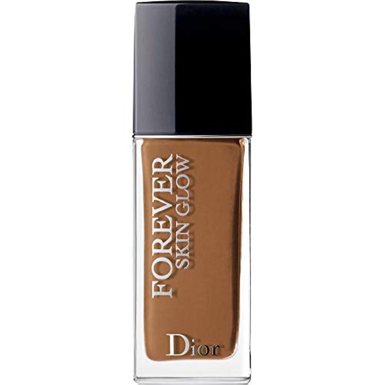 証拠対カラス[Dior ] ディオール永遠に皮膚グロー皮膚思いやりの基礎Spf35 30ミリリットルの7N - ニュートラル(肌の輝き) - DIOR Forever Skin Glow Skin-Caring Foundation...