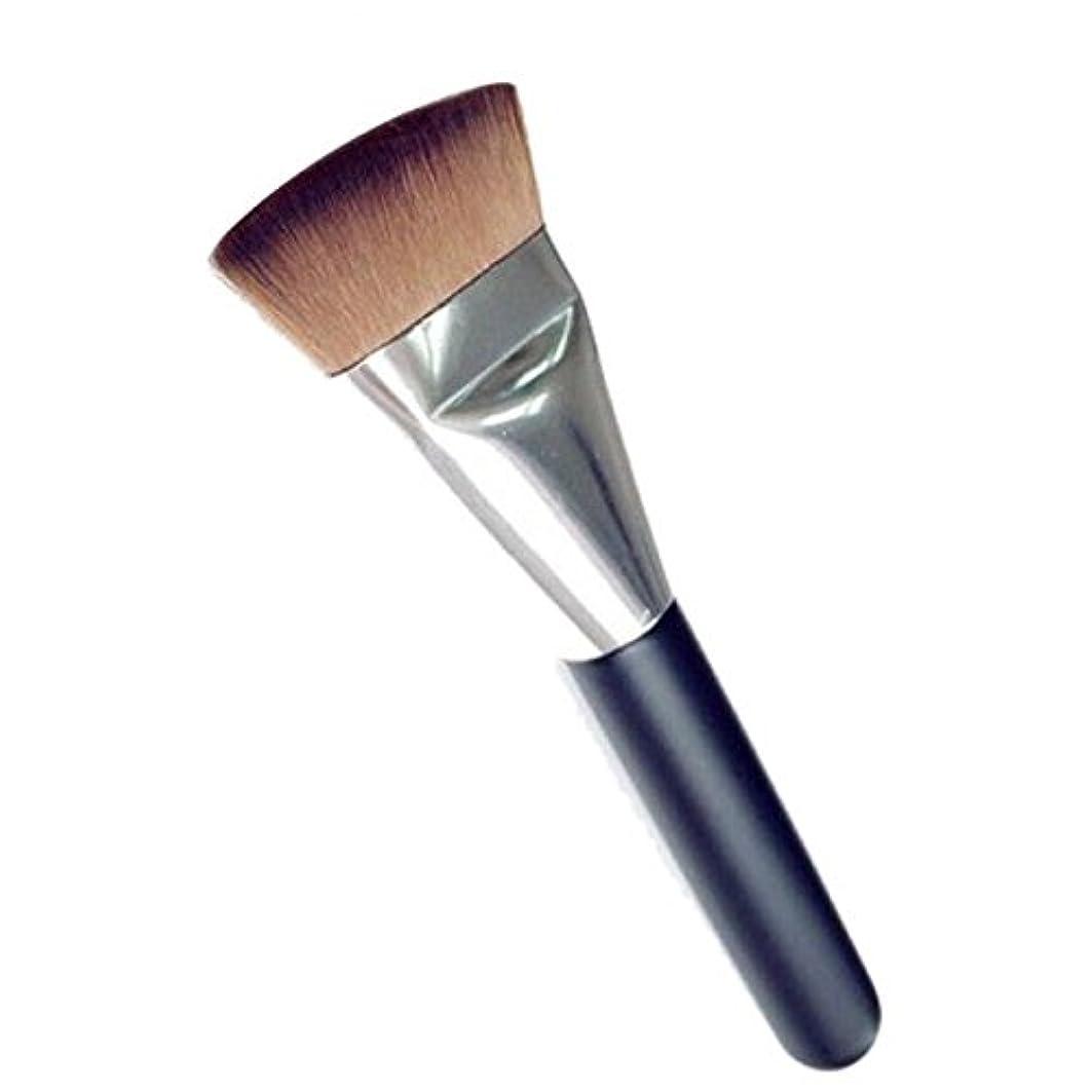 無力手首思慮深い笑え熊 化粧筆 コスメブラシ 化粧ブラシ 多機能メイクブラシケース 扇形 ハイライト 毛質ふわふわ 激安 オススメ (ブラック4)