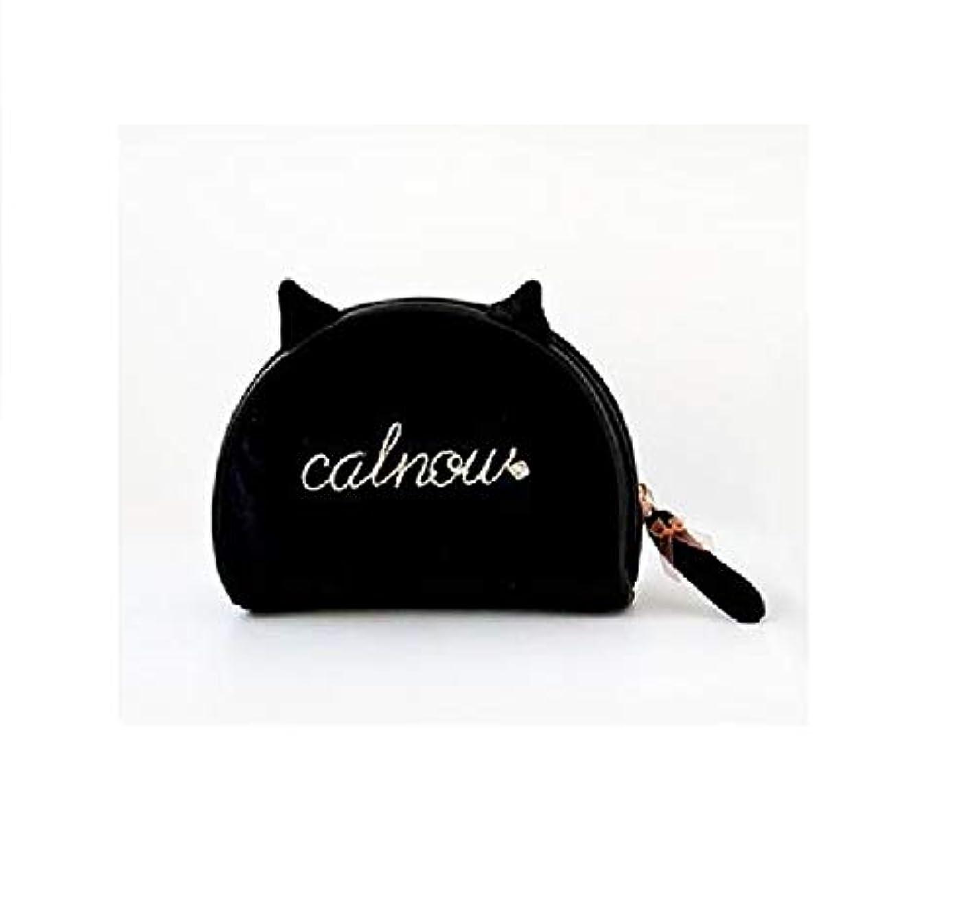 無許可背が高い受益者化粧品収納 可愛いポーチ 猫のポーチ アクセサリー収納袋 大容量小銭入れ ポーチ
