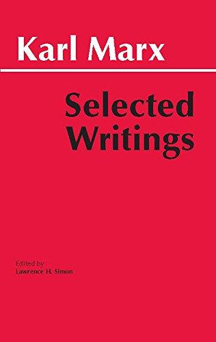 Download Selected Writings (Hackett Classics) 0872202186