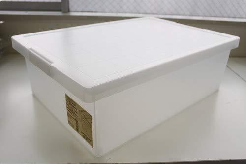 無印良品 ポリプロピレンキャリーボックス・ロック付・小 約幅25.5×奥行37×高さ16.5cm 日本製