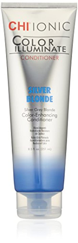 青実質的に壊すIonic Color Illuminate - Silver Blonde Conditioner
