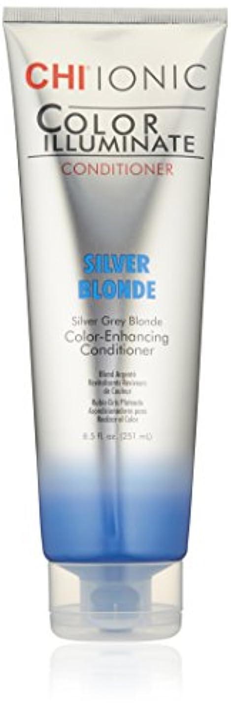 汗もう一度抵抗力があるIonic Color Illuminate - Silver Blonde Conditioner