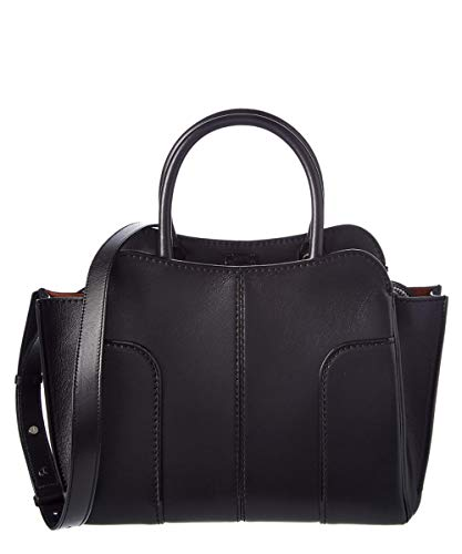 TOD'S(トッズ) [Tod's Stella Small Leather Tote](black) [並行輸入品]