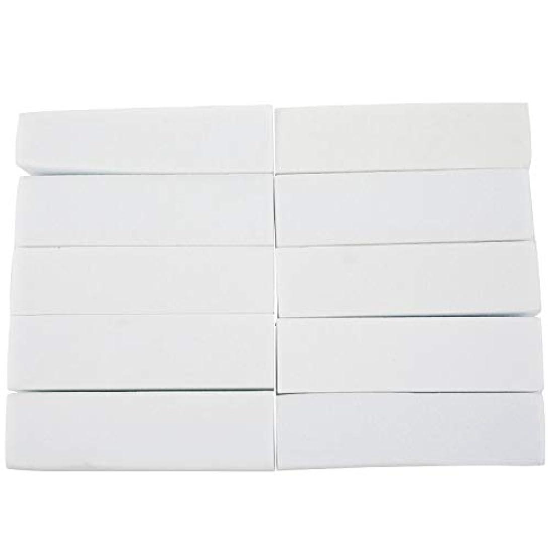 狭い公然と集まるNrpfell 10x白いのアクリルネイルアートのバフ研磨のツール、マニキュアツール