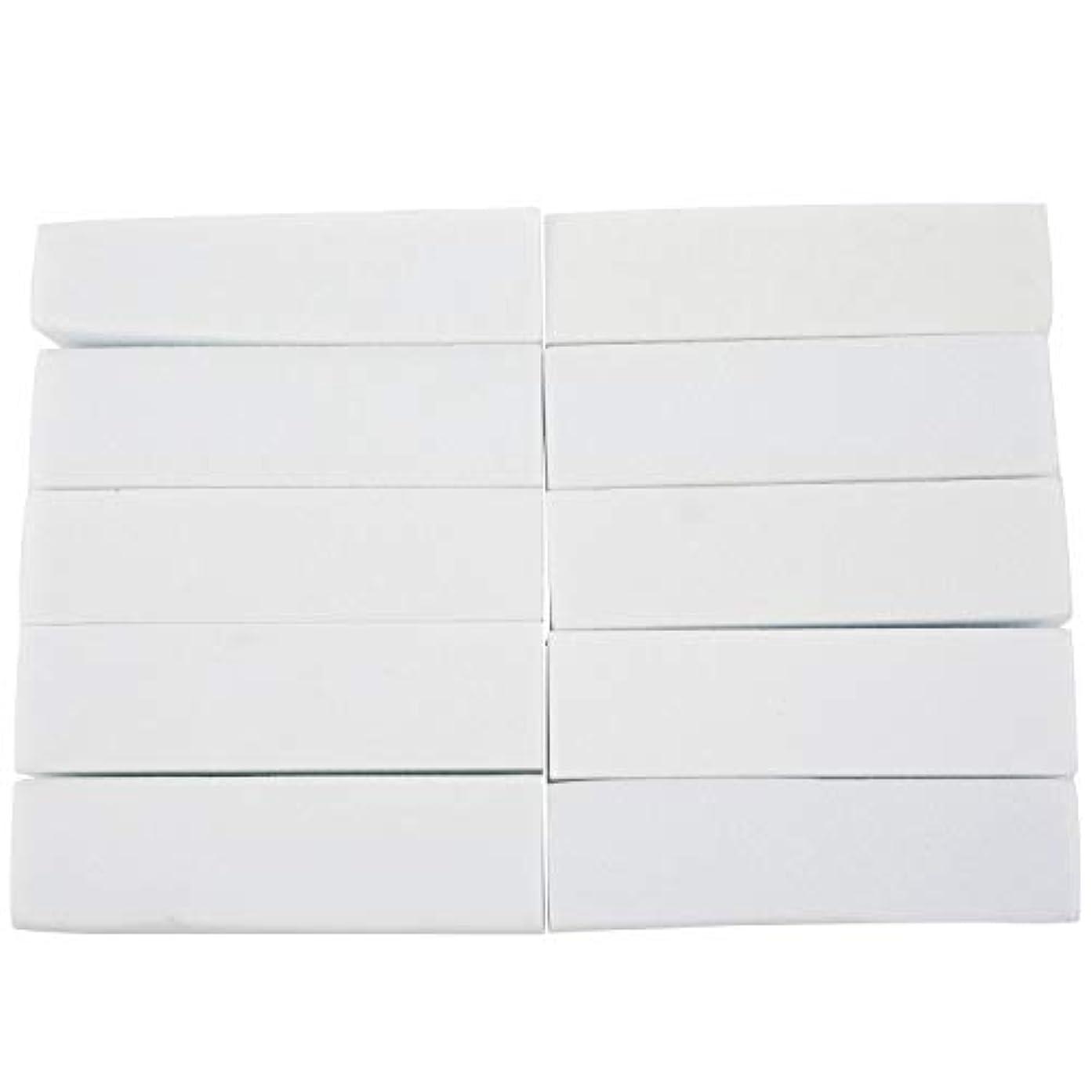 従来の洞察力抵抗Nrpfell 10x白いのアクリルネイルアートのバフ研磨のツール、マニキュアツール