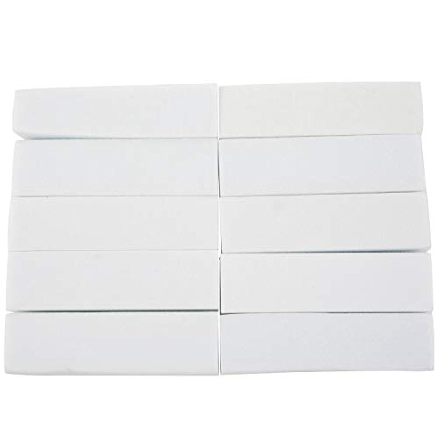 休みチャールズキージングポスターTYJP 10x白いのアクリルネイルアートのバフ研磨のツール、マニキュアツール