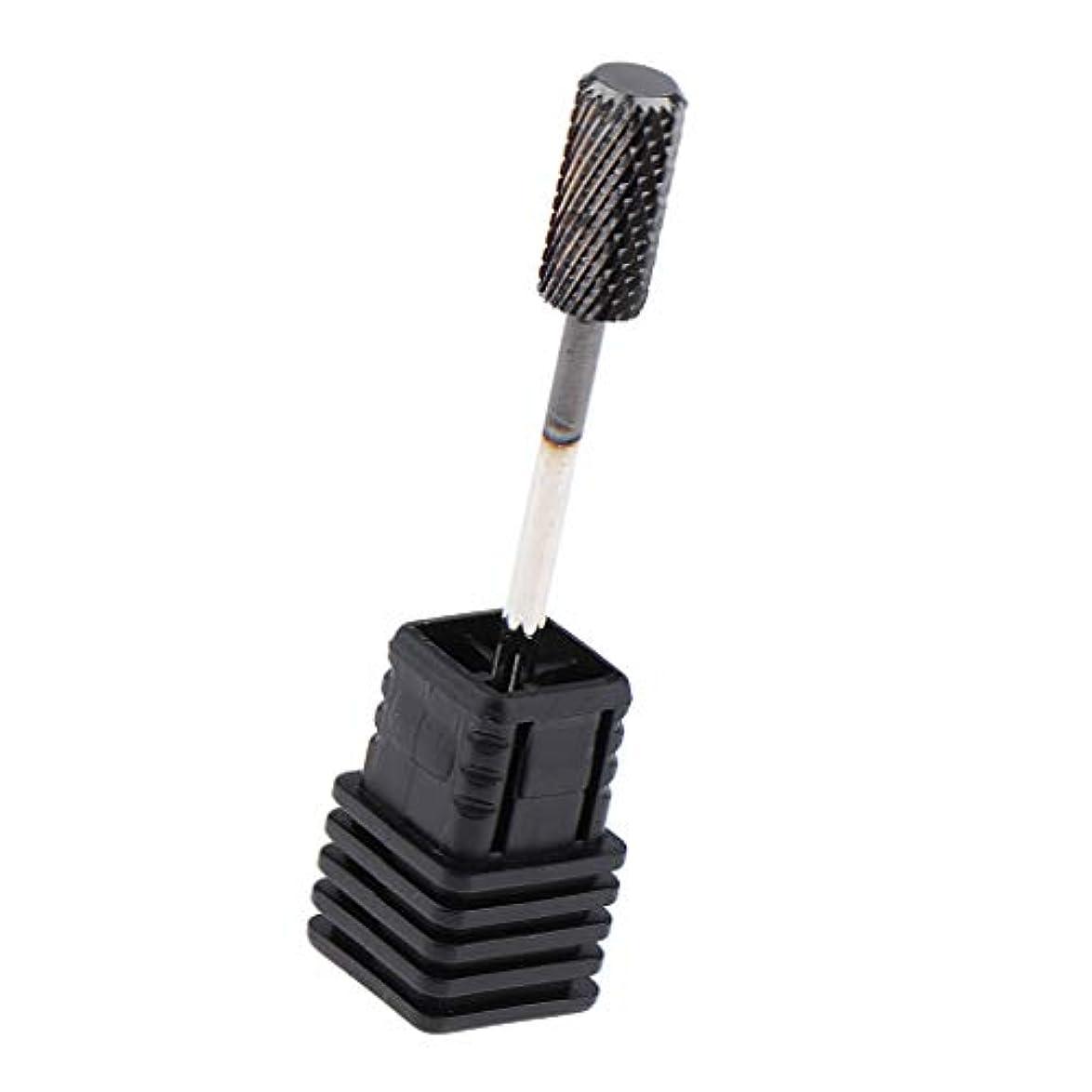 苦しみ黒不良品Toygogo キューティクルクリーンネイルドリルビットファイルポリッシングヘッドアクリルネイル、ジェルネイル、ポリッシュキューティクル、シールコート、ベースジェル用電気ドリルビット - D