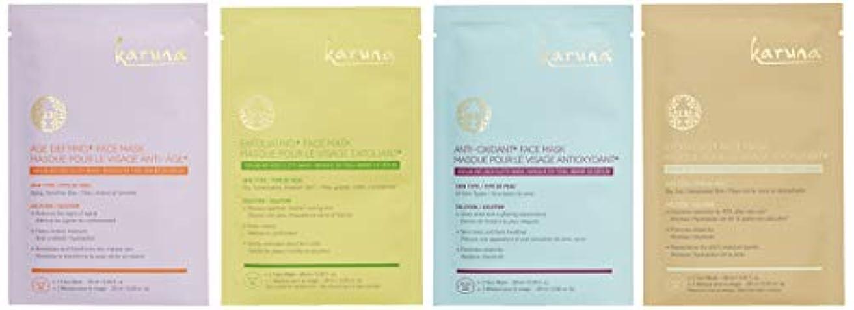 ノートシルエットランチカルナ Karma+ Kit Face Mask Set 4sheets並行輸入品