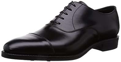 [レンド] RENDO R7701D  CAP TOE OXFORD DAINITE  SOLE BLACK R7701D BK(ブラック/6.5)