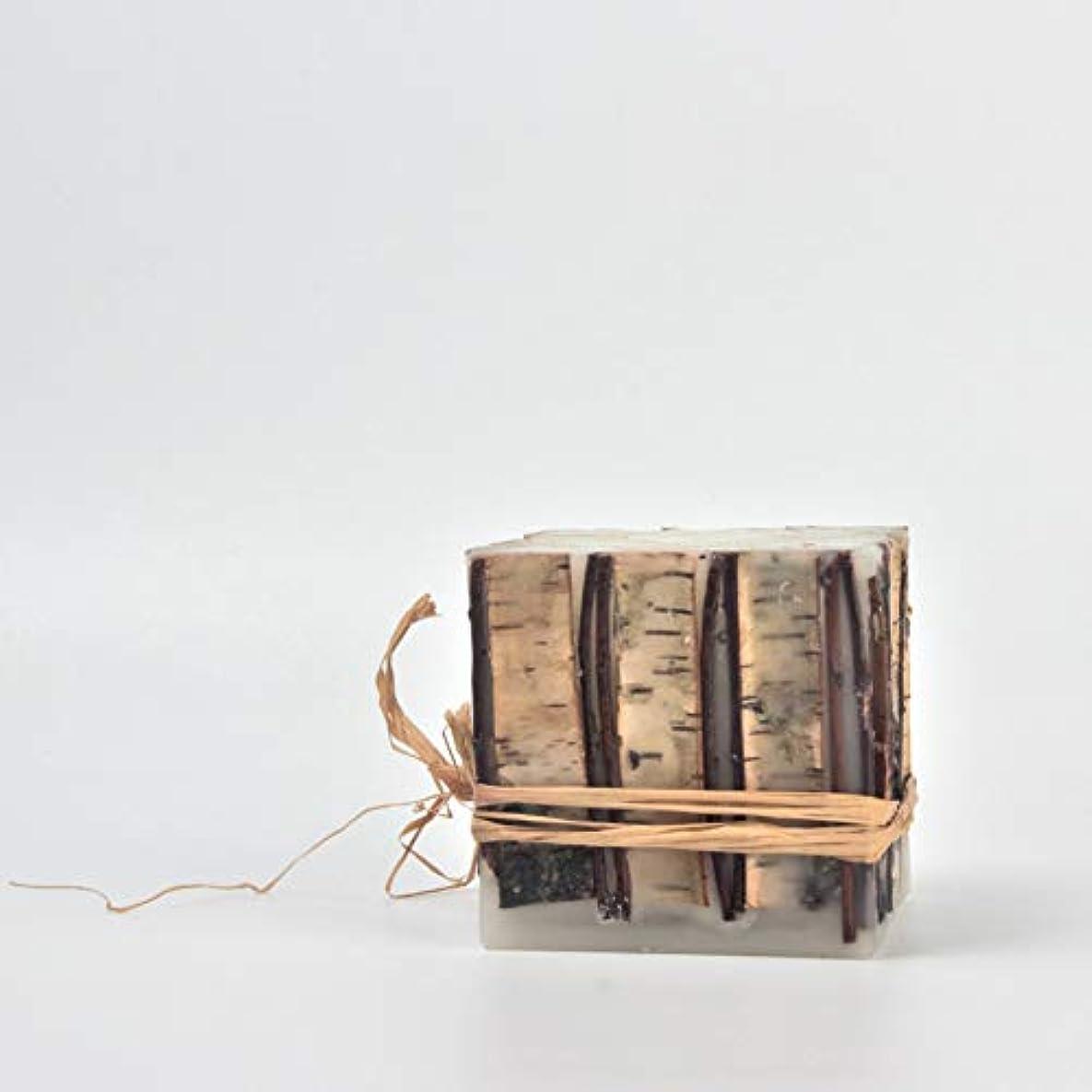 ファイバカード複製ACAO 手作りのクラフトキャンドルロマンチックなクリスマスの香りのキャンドルウェディングキャンドル (色 : 4x4x4)