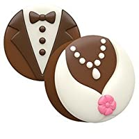 Bride and Groom Oreo Cookie Mold by KreativeBaking