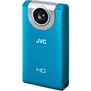 JVCケンウッド JVC HDメモリーカメラ ブルー GC-FM2-A