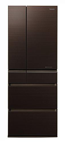 パナソニック 冷蔵庫 6ドア 550L パーシャル搭載 マチュアダークブラウン NR-F554HPX-T