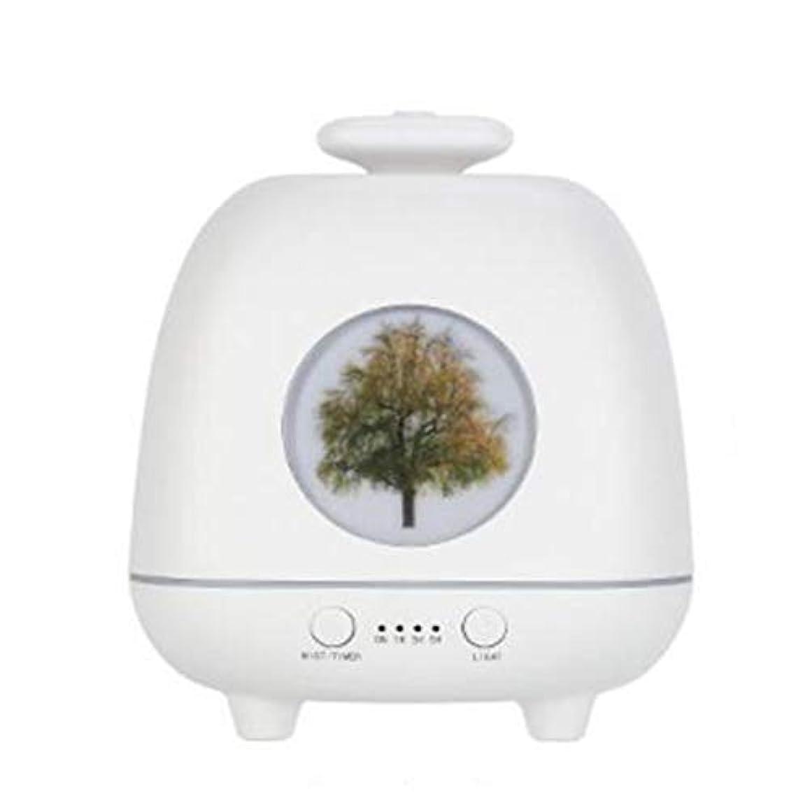 窒素ええ変わる涼しい霧 香り 精油 ディフューザー,7 色 空気を浄化 4穴ノズル 加湿器 時間 加湿機 ホーム Yoga デスク オフィス ベッド- 230ml