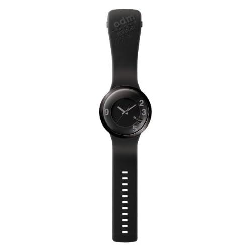 [オーディーエム]o.d.m 腕時計 60sec (シックスティー・セック) アナログ表示 5気圧防水 ブラック/ブラック DD127-5 メンズ 【正規輸入品】