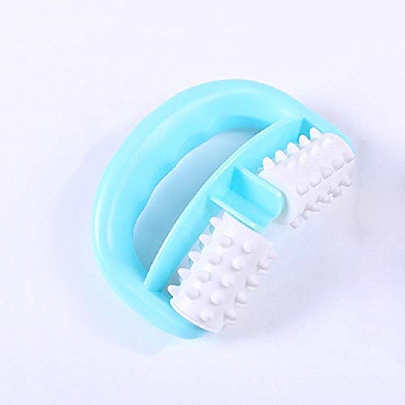 発行ひいきにするシートLVESHOP プラスチック手動ラウンドハンドルマッスルマッサージボディローラーマッサージャー脚の腕のセルライトローラー