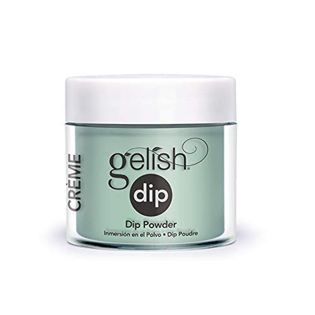 機械的に篭肉のHarmony Gelish - Acrylic Dip Powder - A Mint of Spring - 23g / 0.8oz