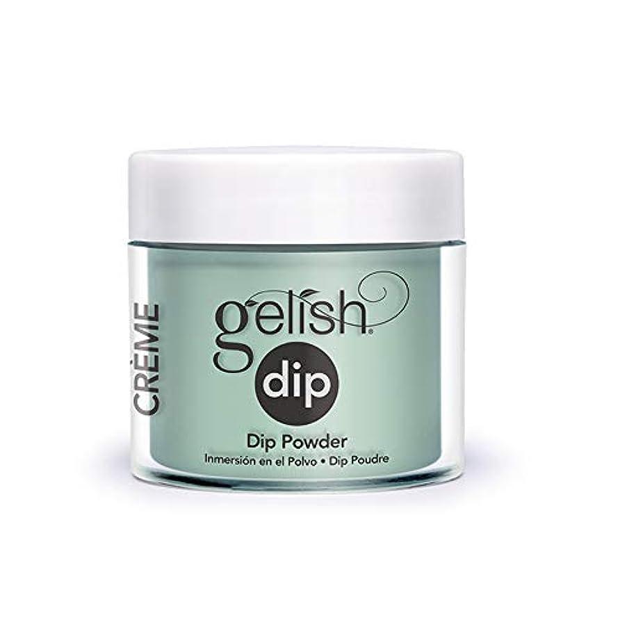 解凍する、雪解け、霜解け芽渦Harmony Gelish - Acrylic Dip Powder - A Mint of Spring - 23g / 0.8oz