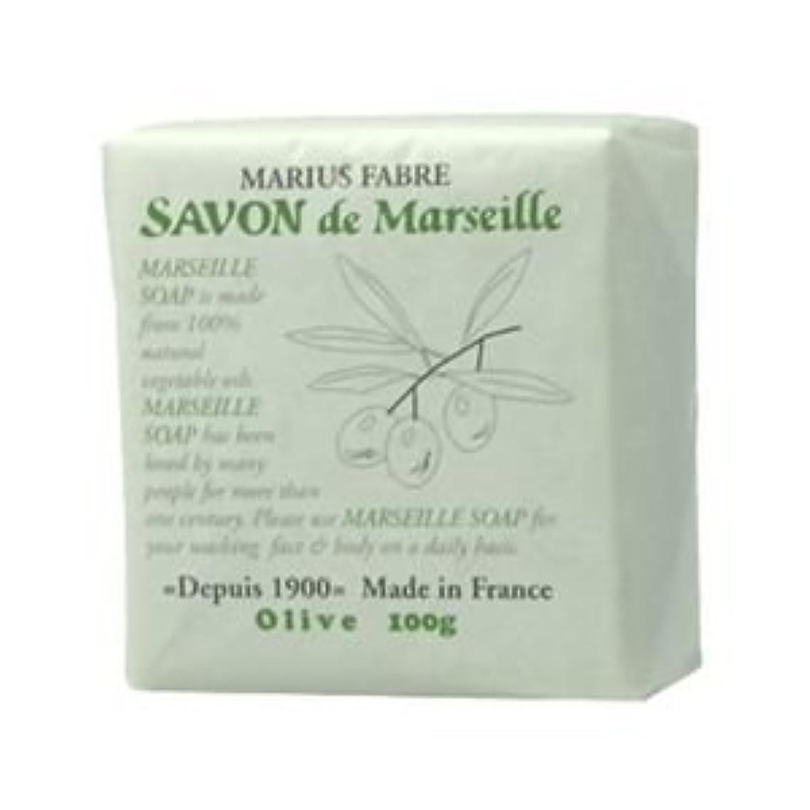 サボン ド マルセイユ オリーブ 100g 【4セット】