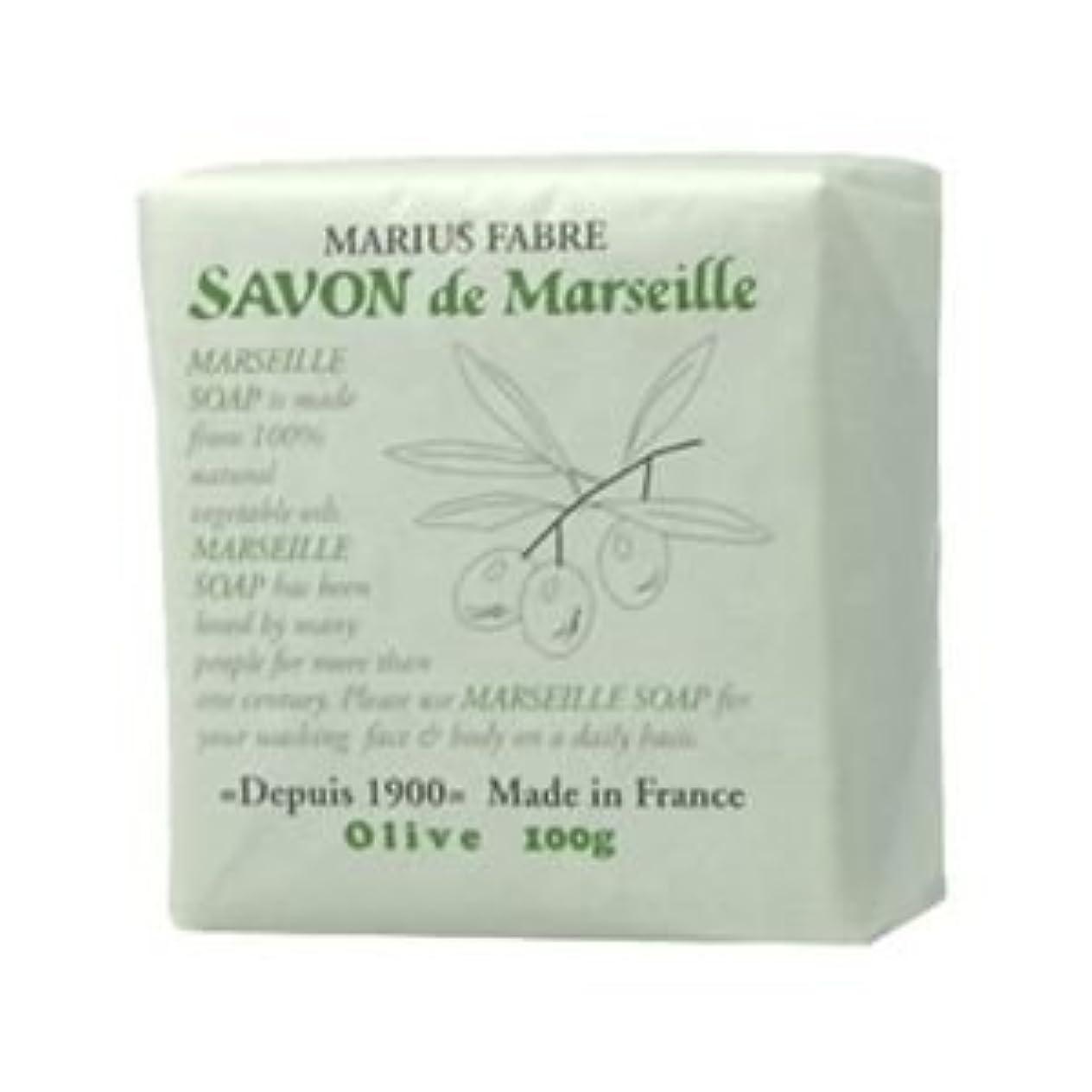 肘頂点植物のサボン ド マルセイユ オリーブ 100g 【4セット】
