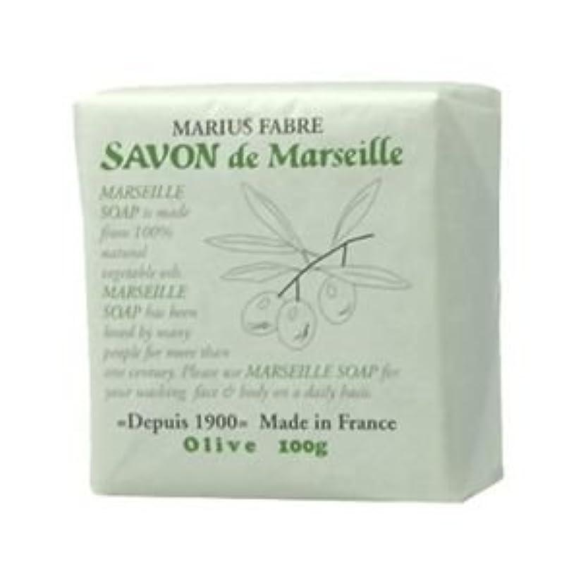 予防接種溶融相対的サボン ド マルセイユ オリーブ 100g 【4セット】