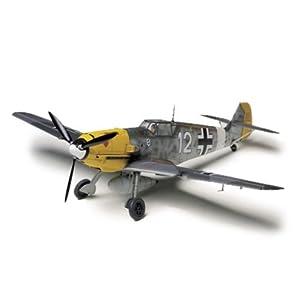 タミヤ 1/48 傑作機シリーズ No.63 ドイツ空軍 メッサーシュミット Bf109 E-4/7 TROP プラモデル 61063