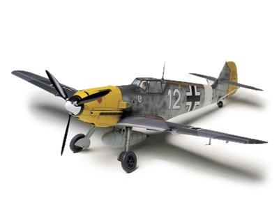 タミヤ 1/48 傑作機シリーズ No.63 ドイツ空軍 メッサーシュミット...