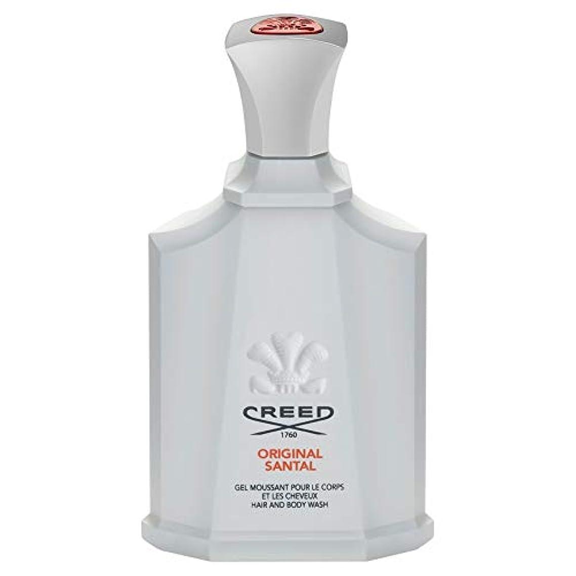 宗教的な先例健康的[Creed ] 信条元サンタルシャワージェル200Ml - CREED Original Santal Shower Gel 200ml [並行輸入品]