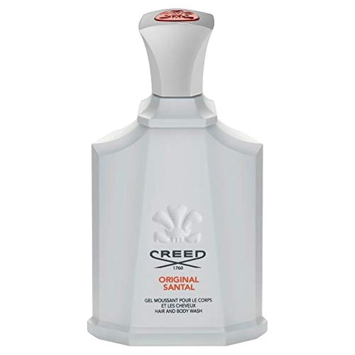 ニンニク匿名転倒[Creed ] 信条元サンタルシャワージェル200Ml - CREED Original Santal Shower Gel 200ml [並行輸入品]