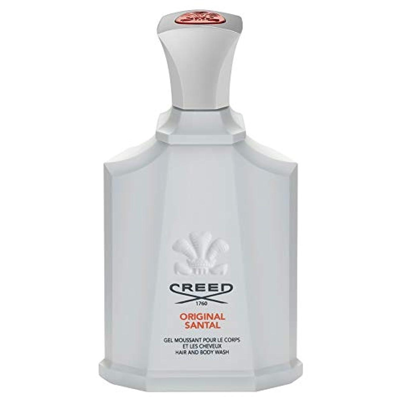 株式中国抑止する[Creed ] 信条元サンタルシャワージェル200Ml - CREED Original Santal Shower Gel 200ml [並行輸入品]