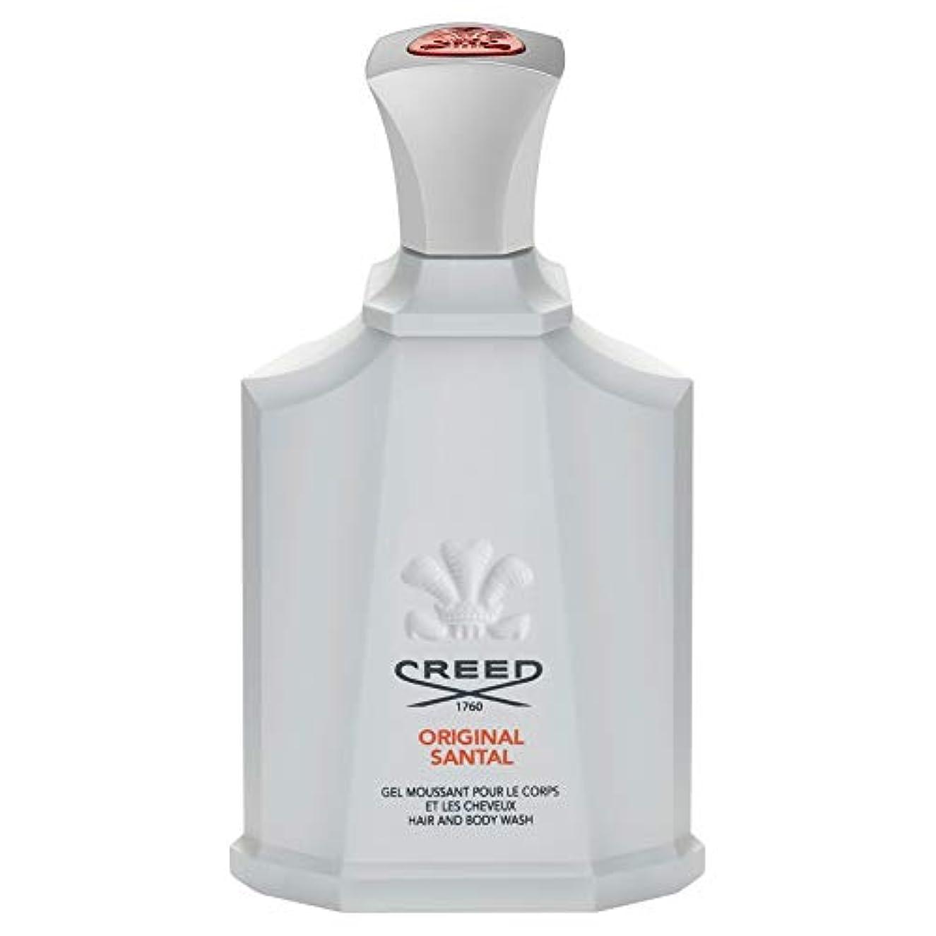 摘む出くわす保護する[Creed ] 信条元サンタルシャワージェル200Ml - CREED Original Santal Shower Gel 200ml [並行輸入品]