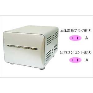 カシムラ アップダウントランス 100/110~130V 1500W TI-149