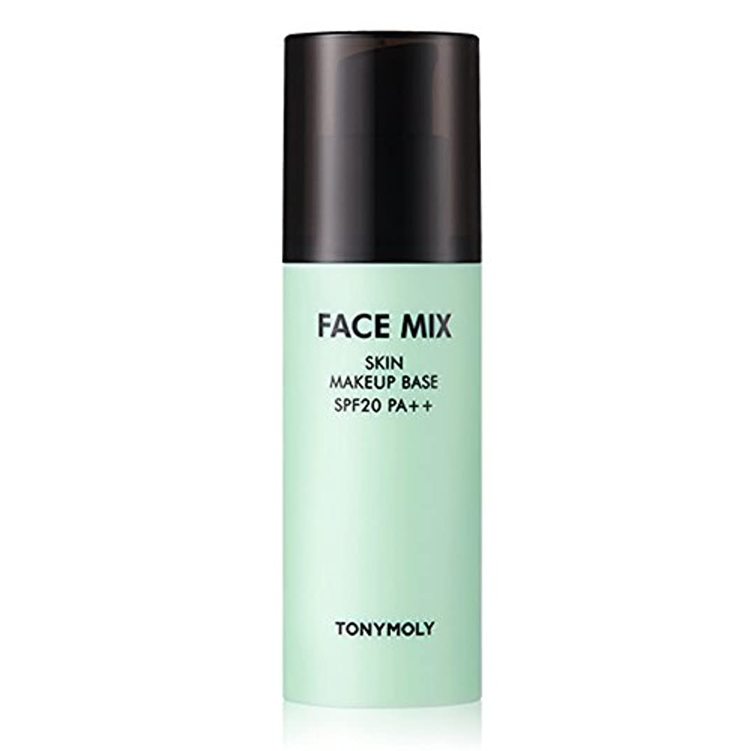 喜ぶお手入れ温度計TONYMOLY FACE MIX SKIN MAKEUP BASE 01 MIX GREEN SPF20 PA+++ 30g