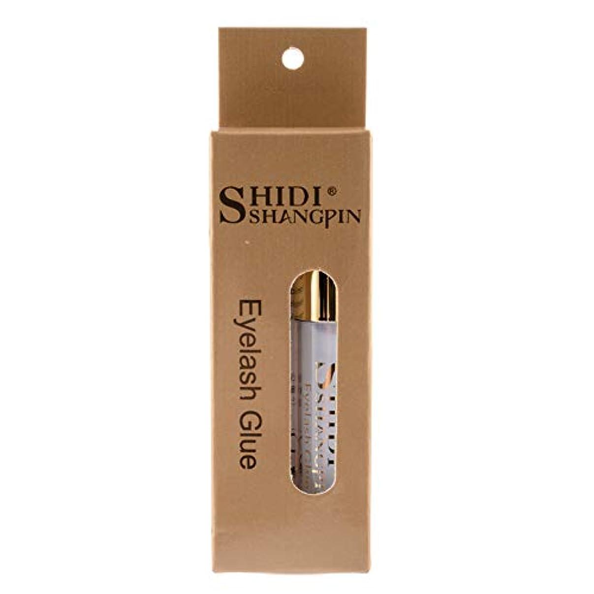 とにかく施し食物SHIDI SHANGPIN つけまつげ接着剤 超強力タイプスーパーフィット乳白色 5g