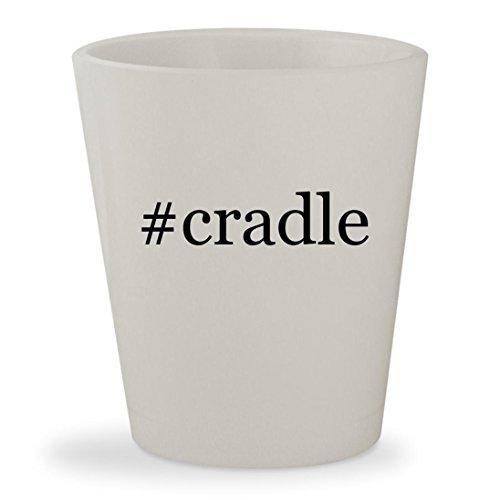 # Cradle ? ホワイトハッシュタグセラミック1.5 Ozショットガラス